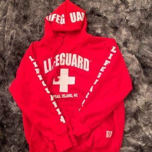 Tops - lifeguard hoodie sweatshirt